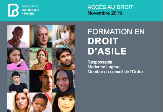 Procédure de demande d'asile et interprétariat / Barreau de Paris & LIMINAL, 6 nov. 2019