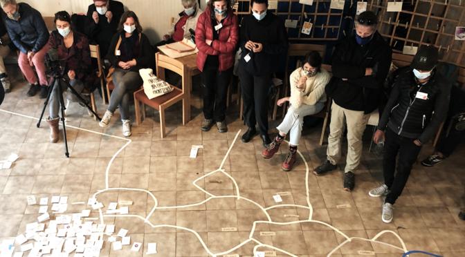 Ateliers reflexifs et collaboratifs. Territoires & savoirs partages. videos